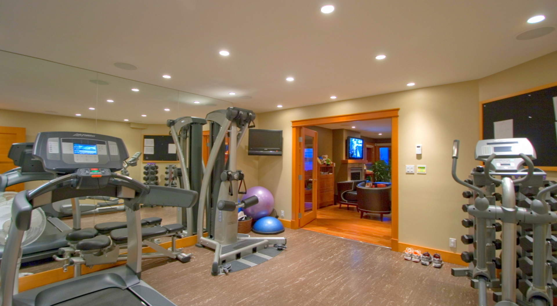 Home Gym with State-of-the-Art Equipment