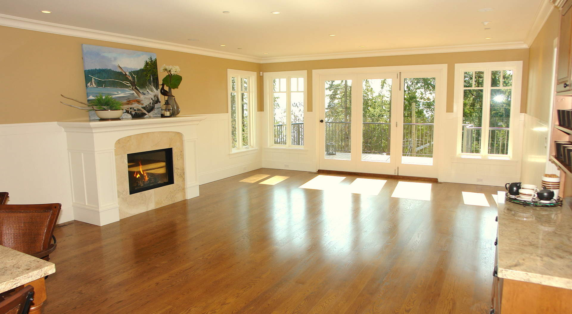 Large Family Room with