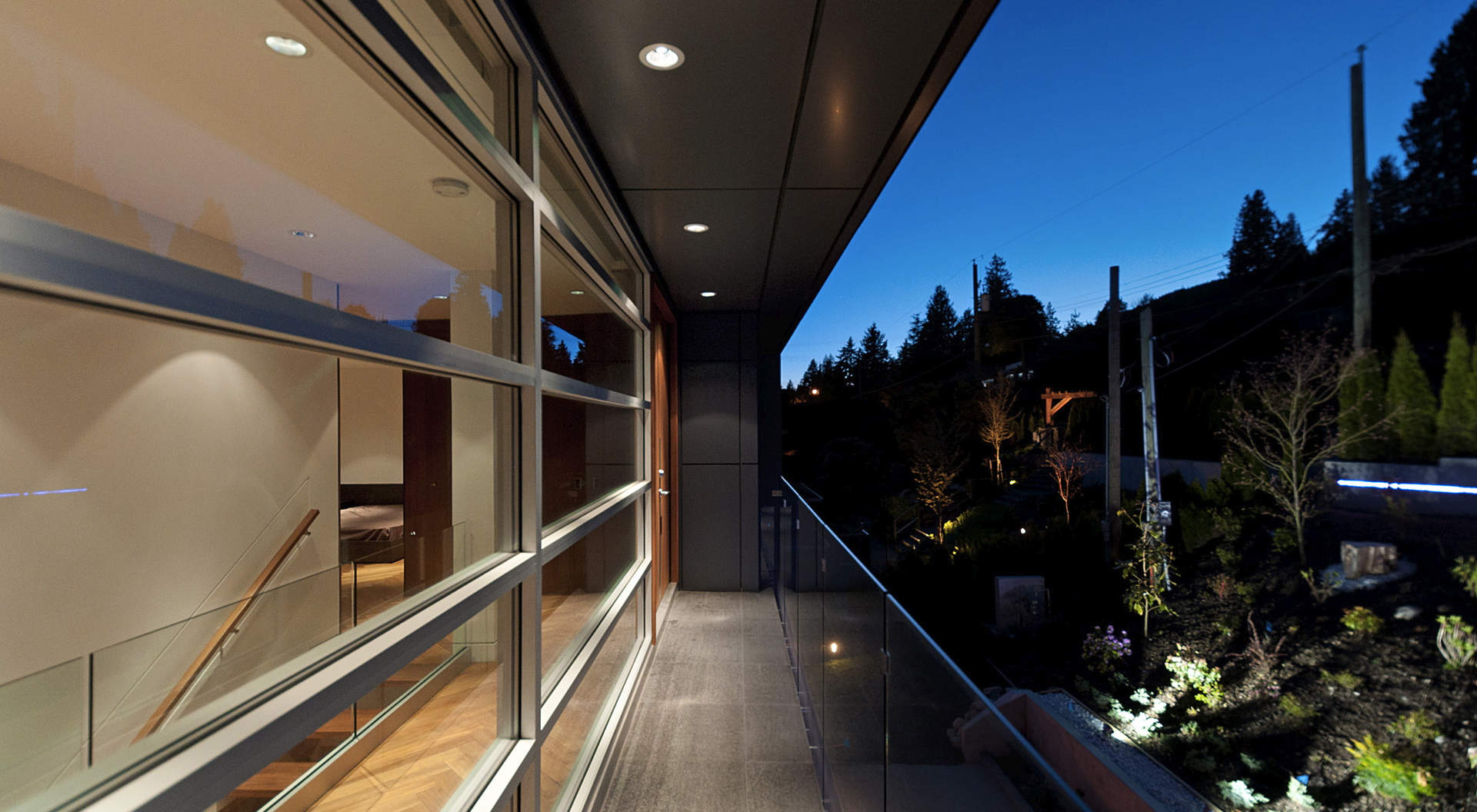 An Air Flow Balcony Overlooking the Entry
