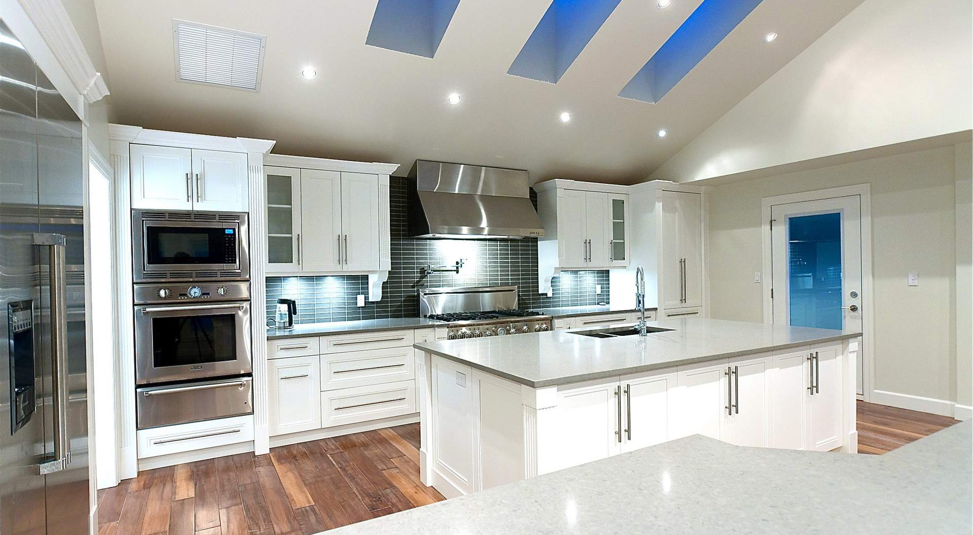 Spectacular Custom Kitchen with Center Island