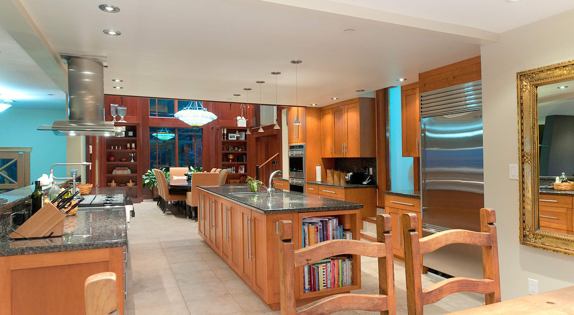 Large Custom Kitchen