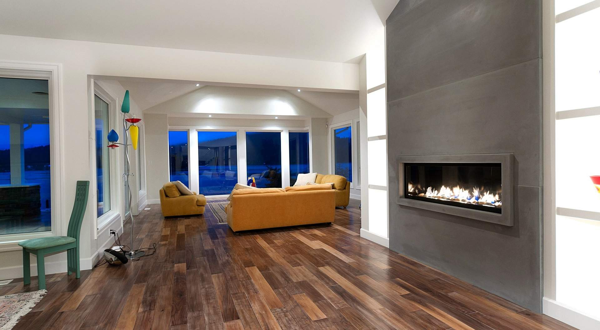 Rich Hardwood Flooring