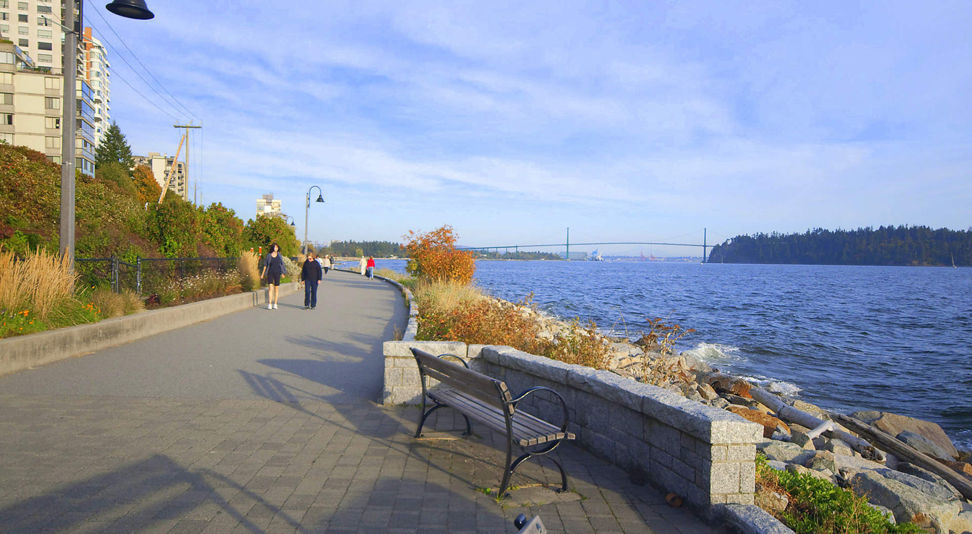 Famed W.V. Seawall