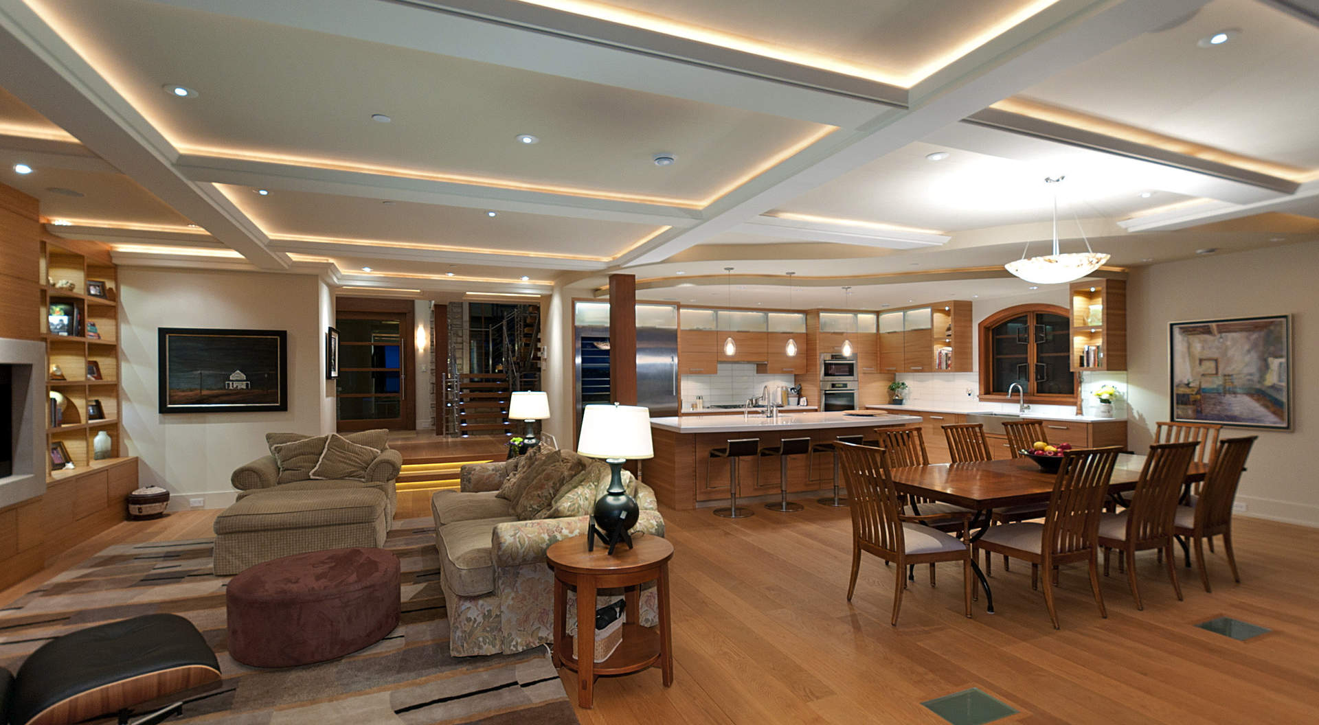 A Goregous Open Plan of Living