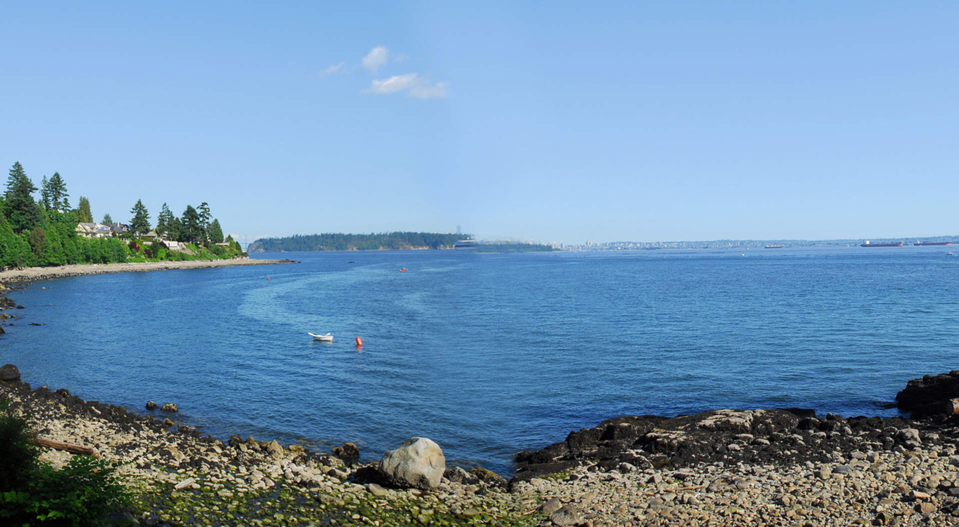 Fabulous Ocean Views to the City, Stanley Park, and West Vancouver's Coastline