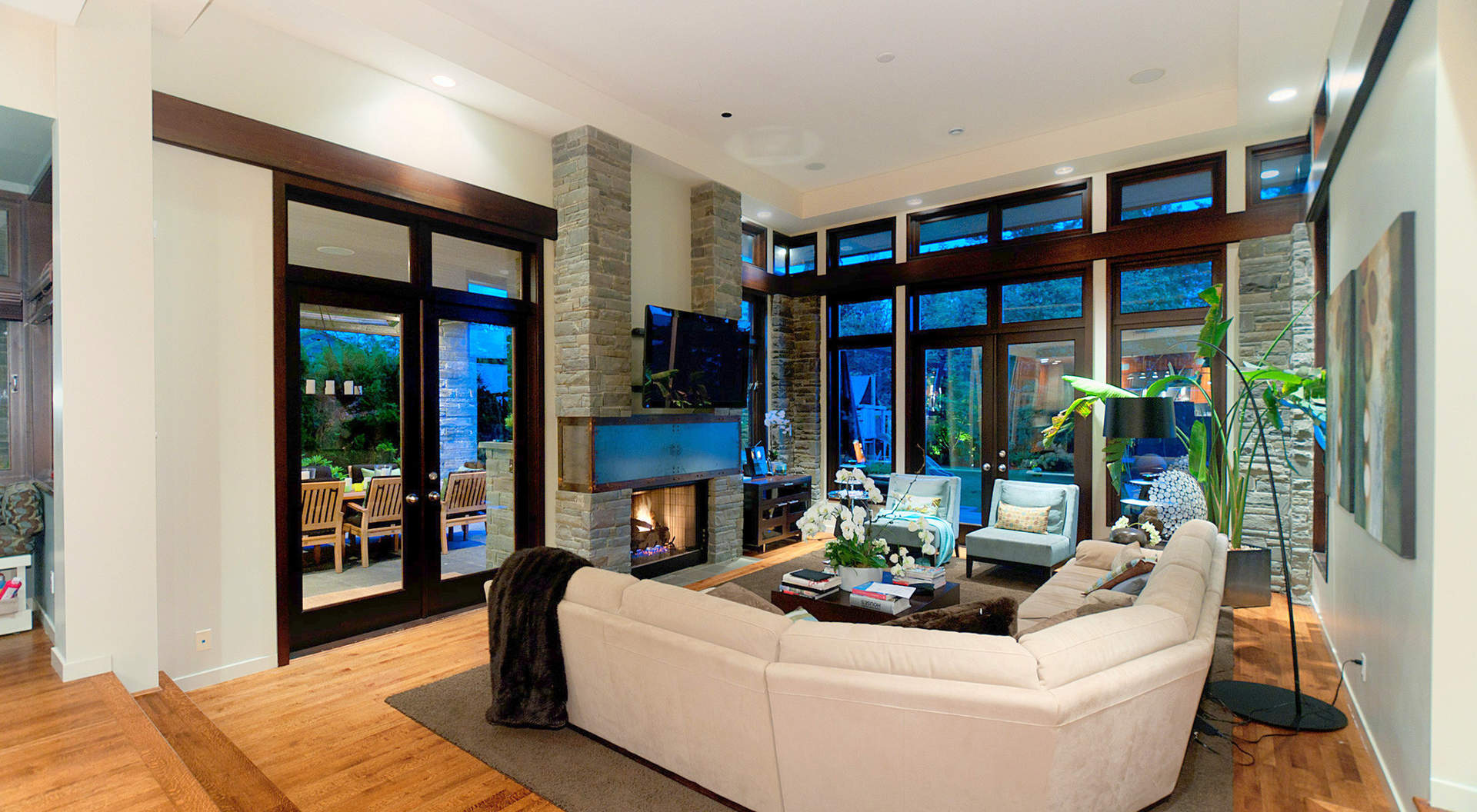 Great Room with soaring Ceilings