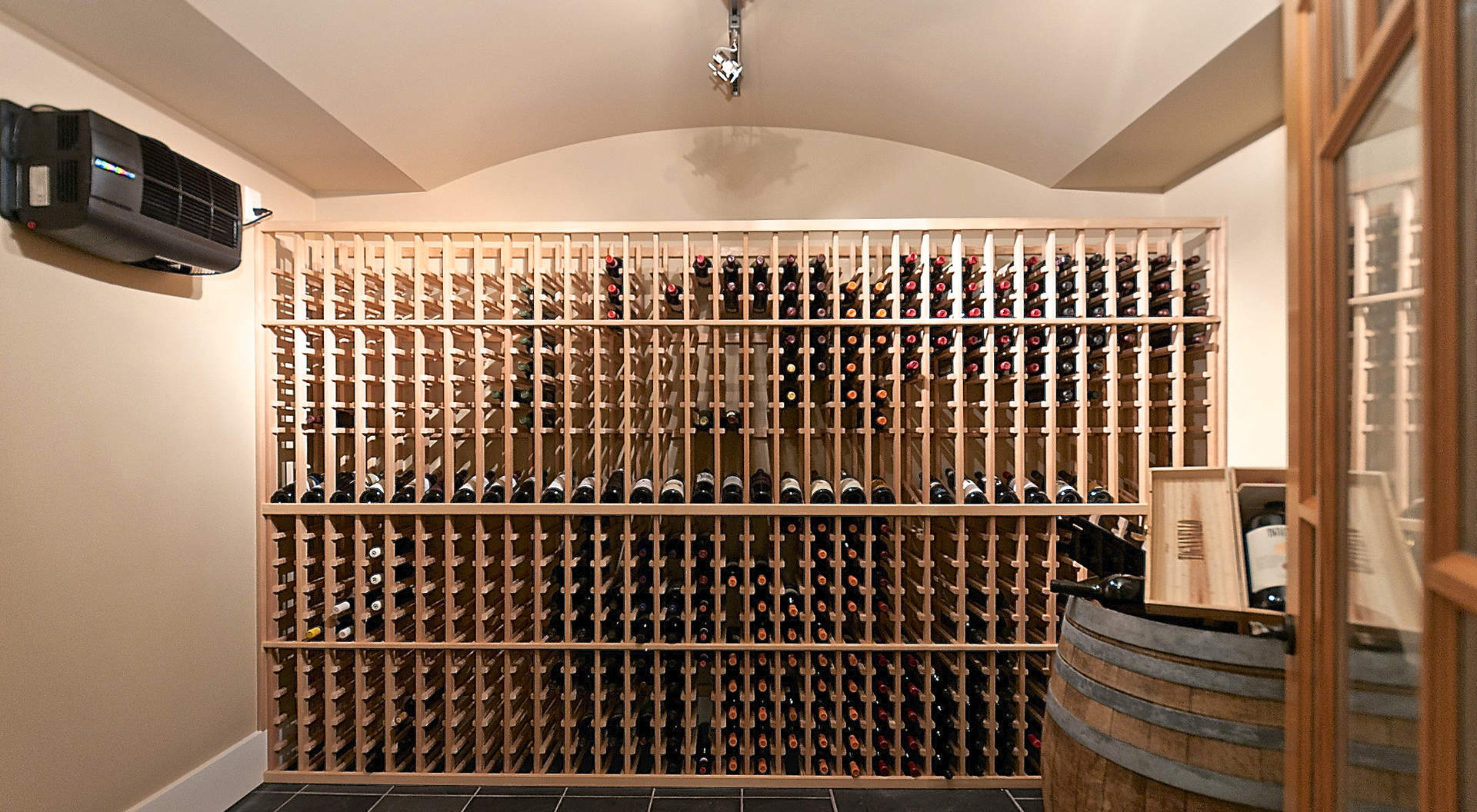 Temperatura controlada Wine Room