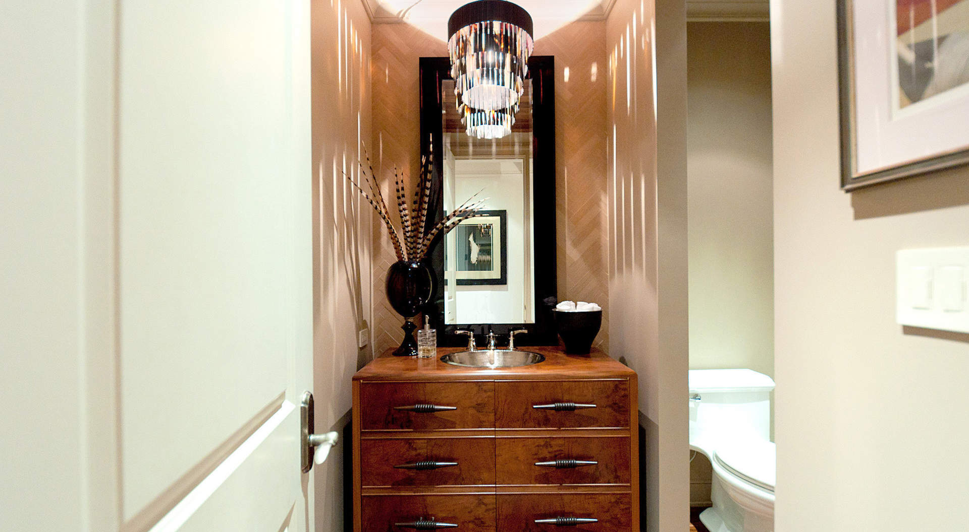 Sensational Powder Room