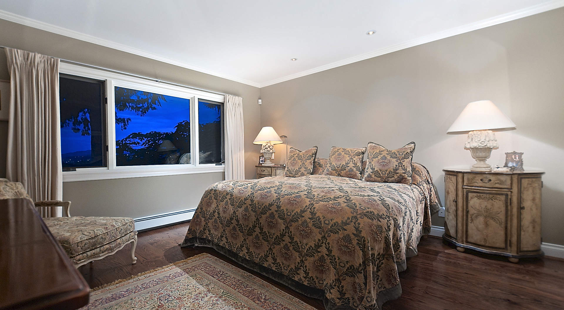Master Bedroom with Walk-in Closet & Spa-like Ensuite