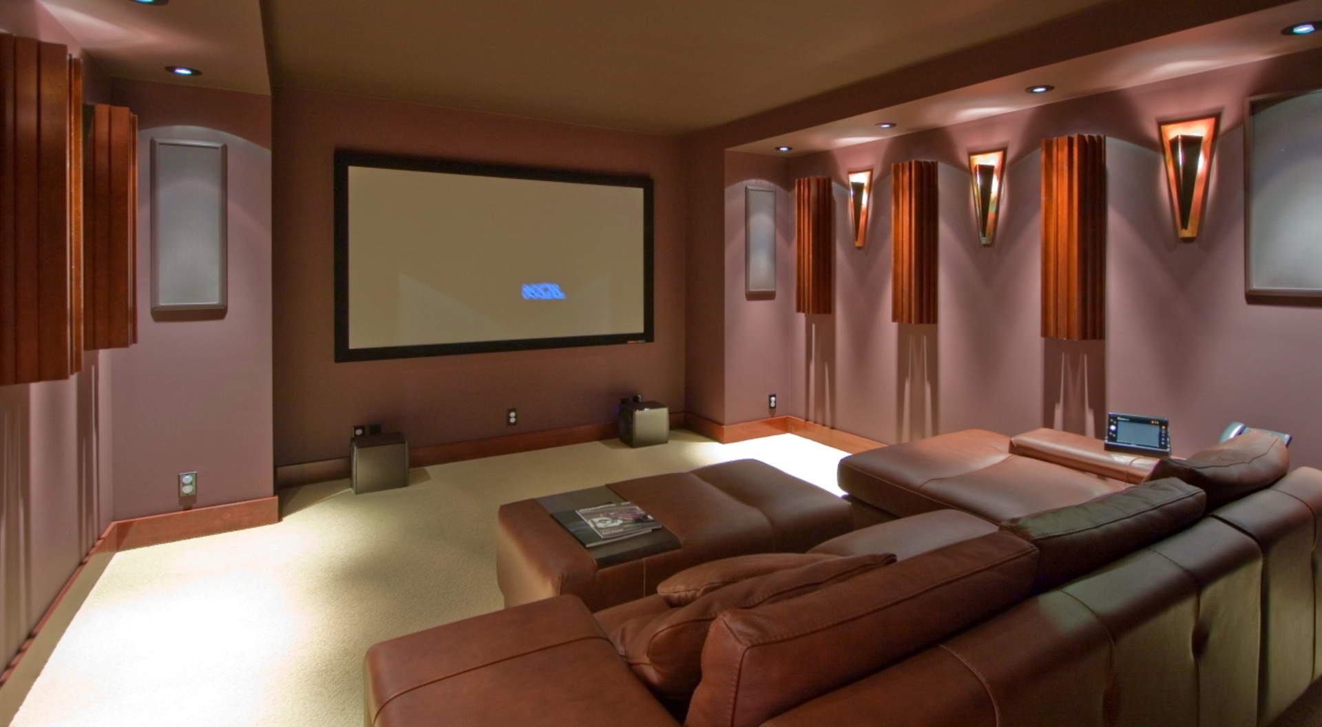 Fabulous Theatre Room