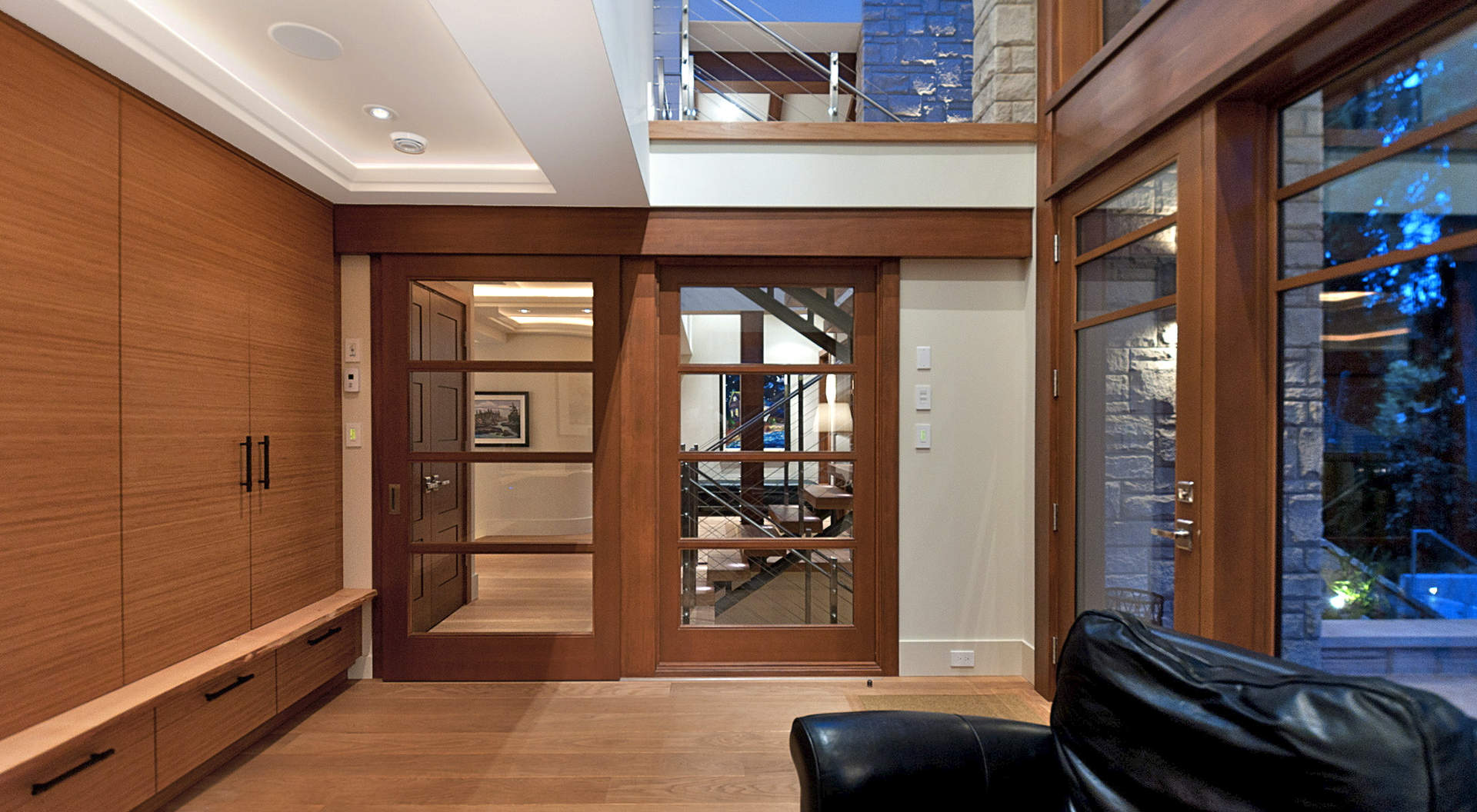 Custom Windows, Doors, & Built-in Cabinetry