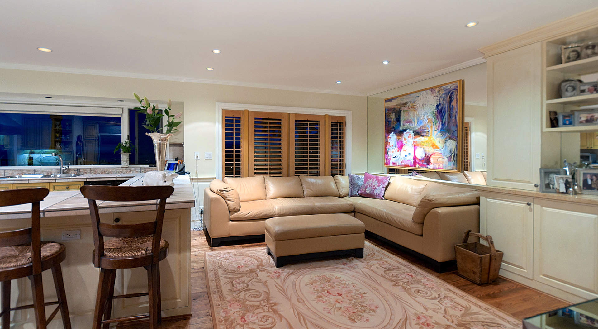 Adjoining Family Room