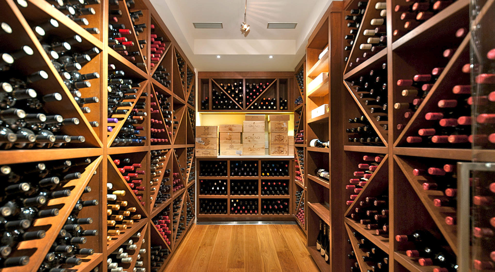 Temperature Controlled Wine Room