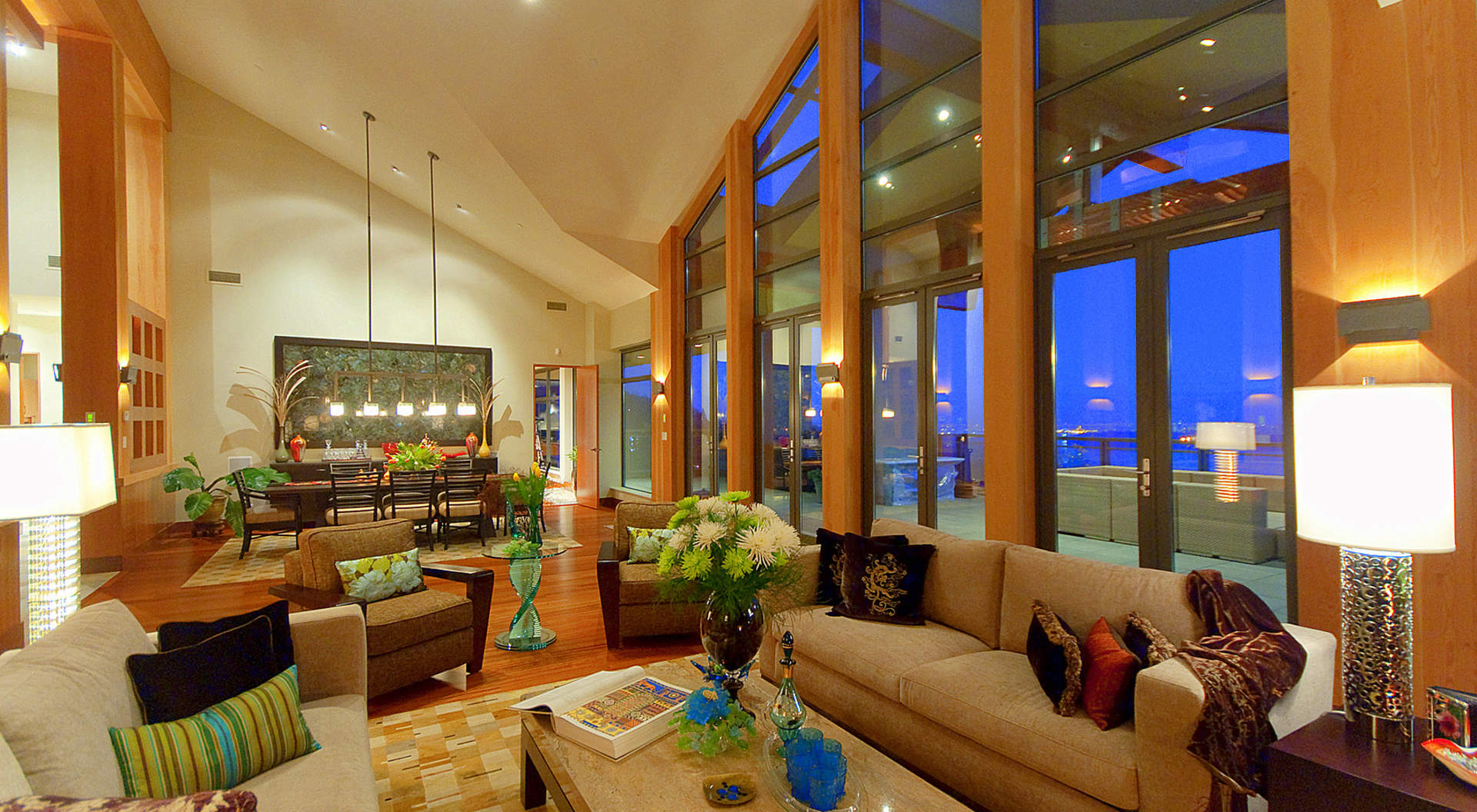 Dramatic Living Areas