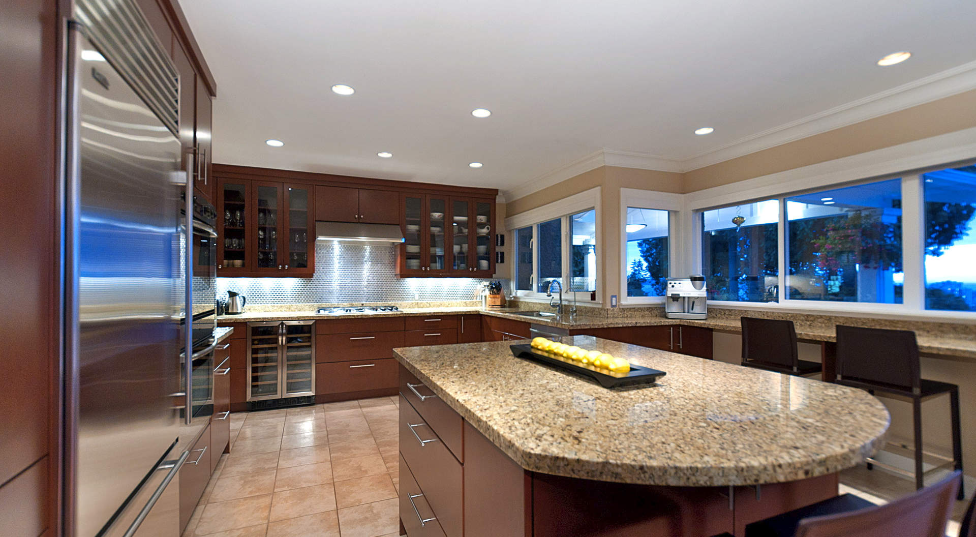 Gorgeous Kitchen with Center Island