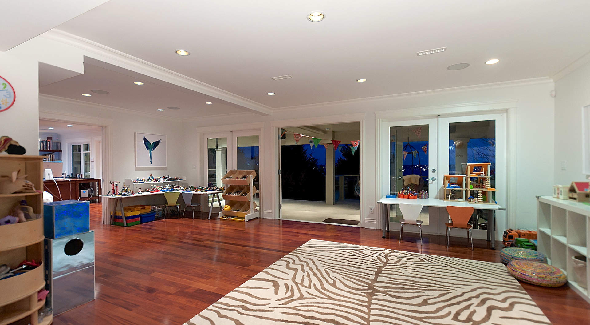 Sensational Recreation Room Downstairs