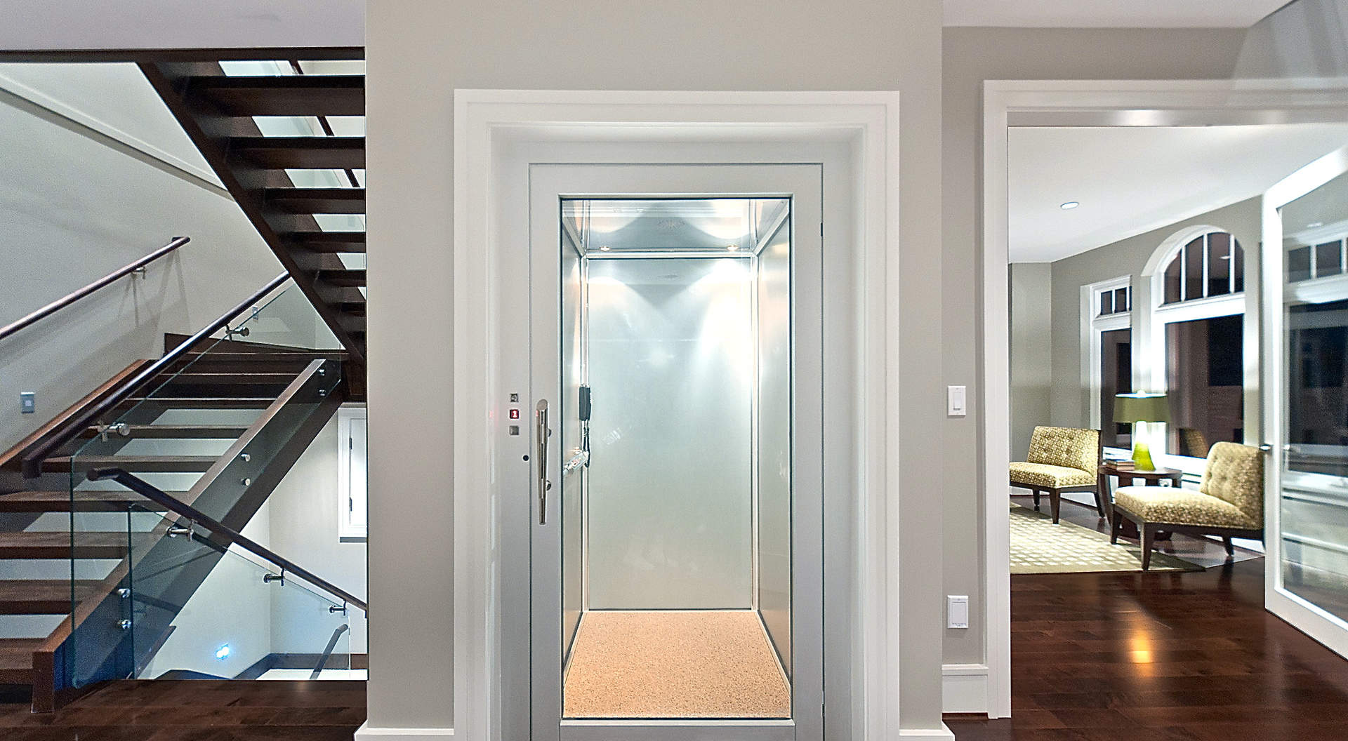 A Commercial Grade Elevator to Every level of the Home