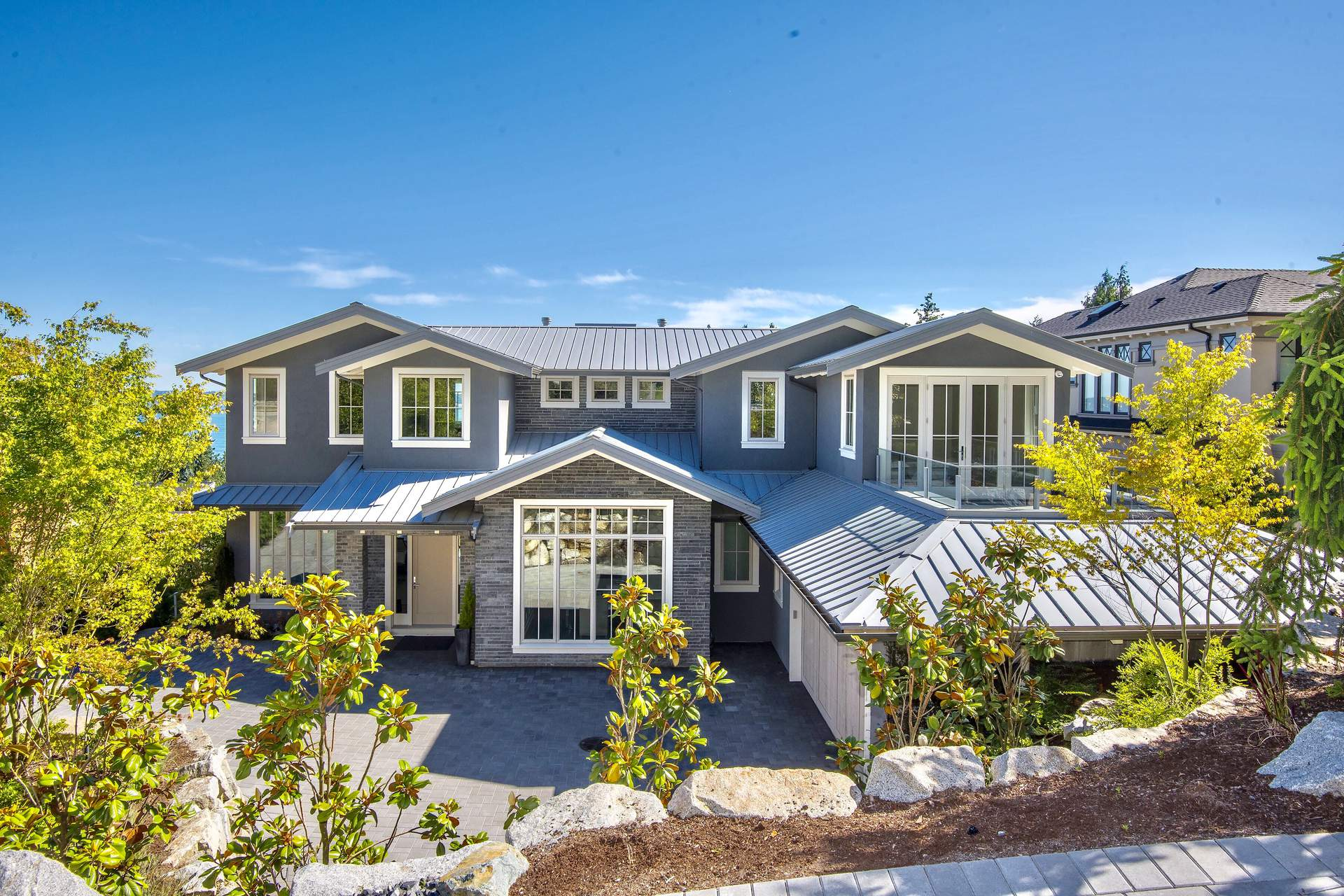 New Custom Contemporary with Spectacular Ocean & City Views!
