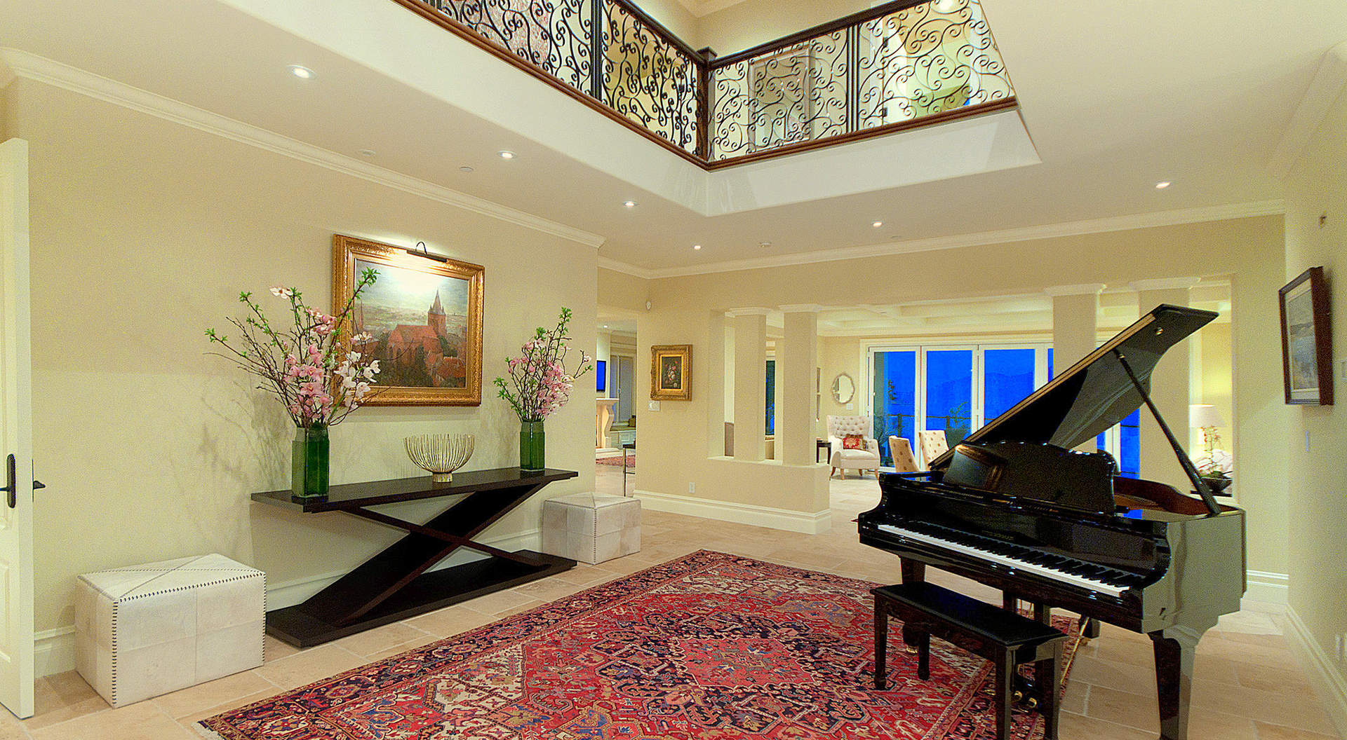 Grand Main Entry with Double Height Ceilings