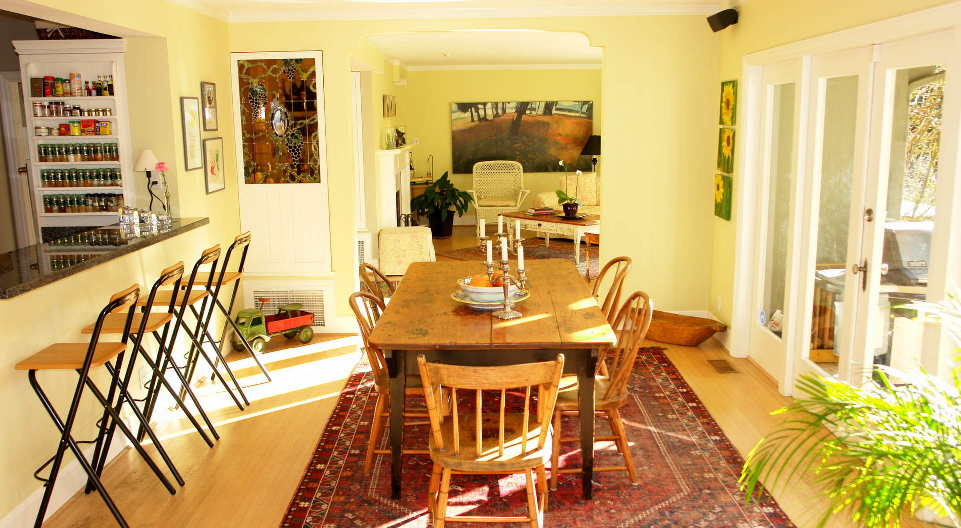 Sunfilled Dining Area