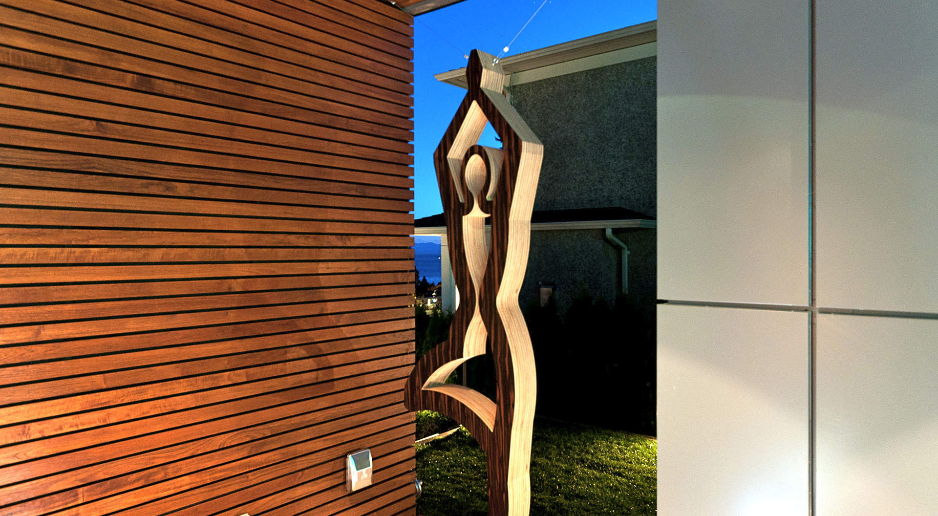 A Custom Sculpture Bringing Peace, Tranquility & Balance to Any New Owners