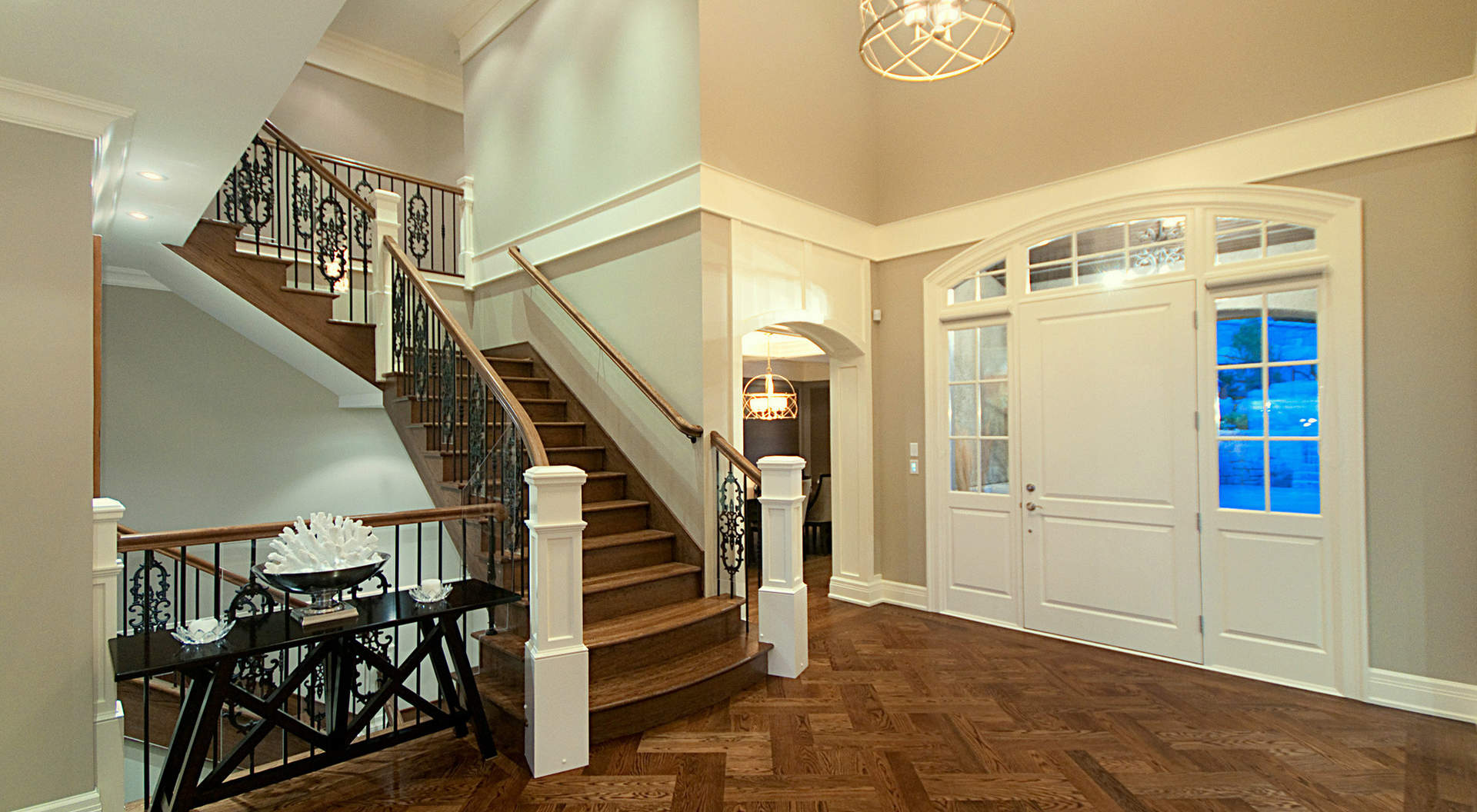 Fabulous Double Height Foyer
