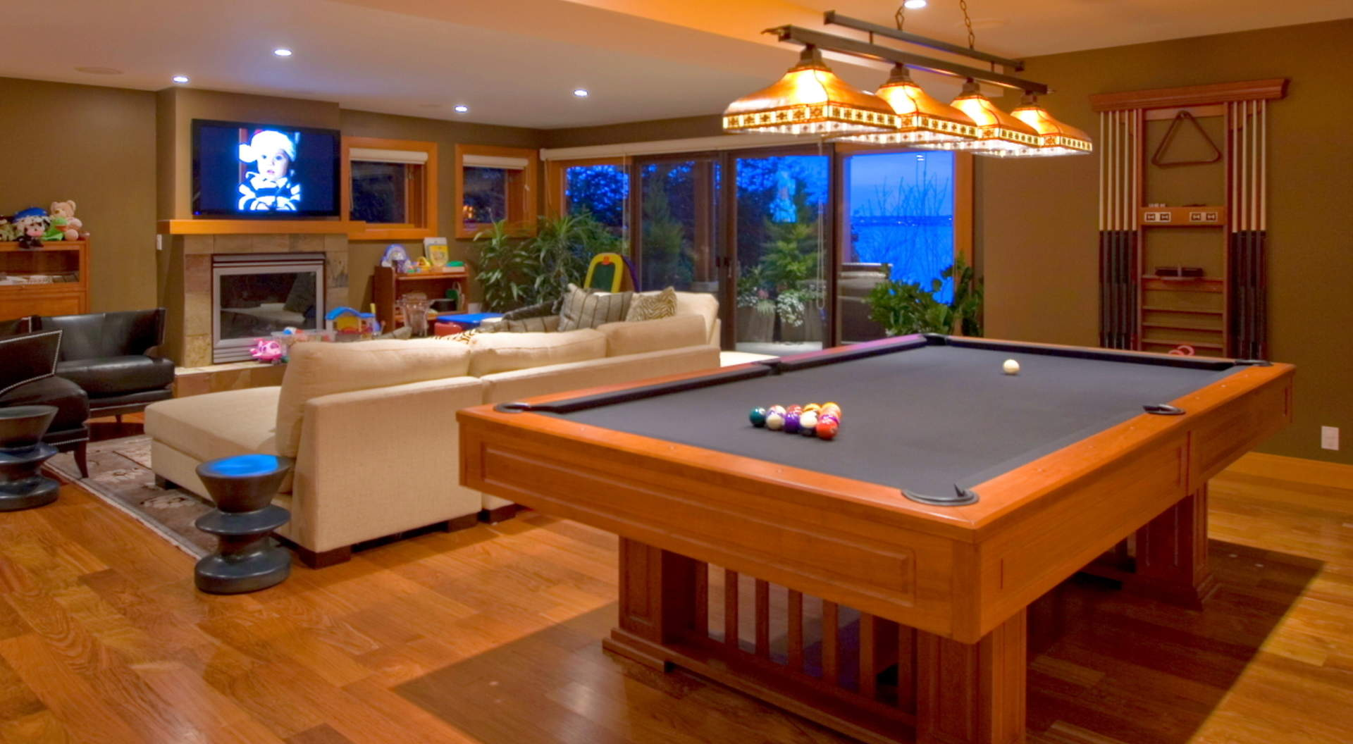 Downstairs Billiard & Recroom