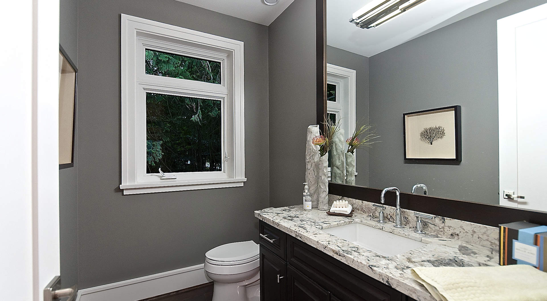 An Elegant Powder Room