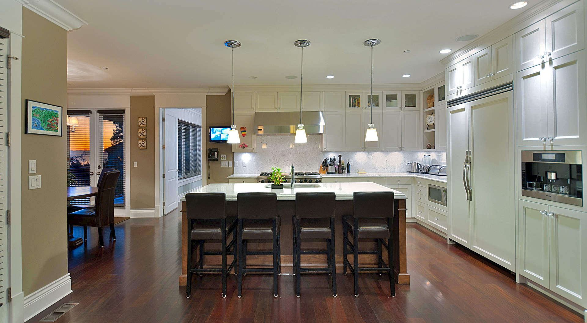 Custom Kitchen with Center Island