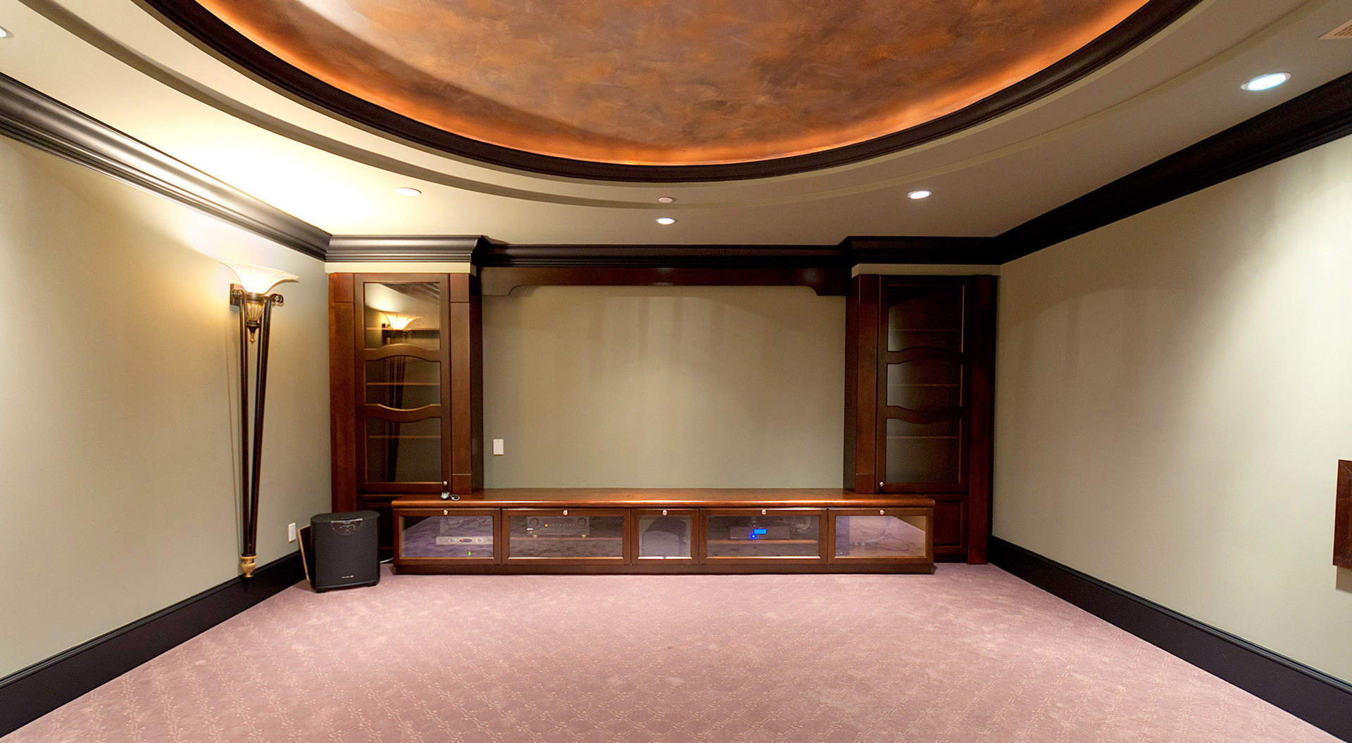 State-of-the Art Theatre Room